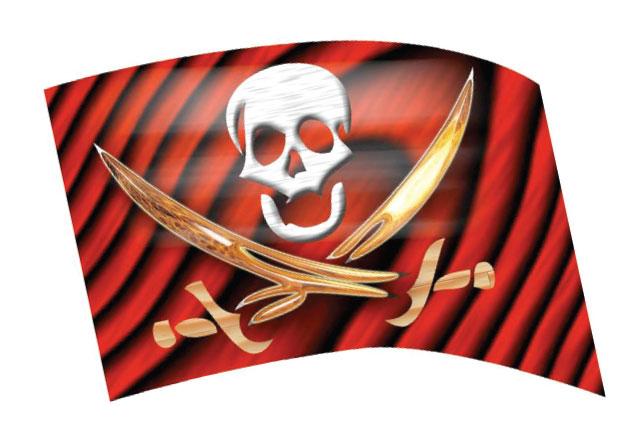 Envision Digital Flags: Pirate (612)