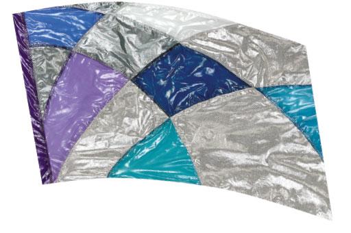 Crystal Clear Lamé Flags: SP1301