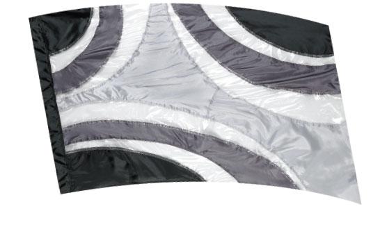 Crystal Clear Lamé Flags: SP1302