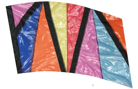 Crystal Clear Lamé Flags: SP1304