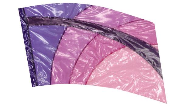 Crystal Clear Lamé Flags: SP1306