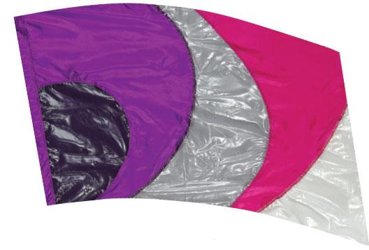 Crystal Clear Lamé Flags: SP1308