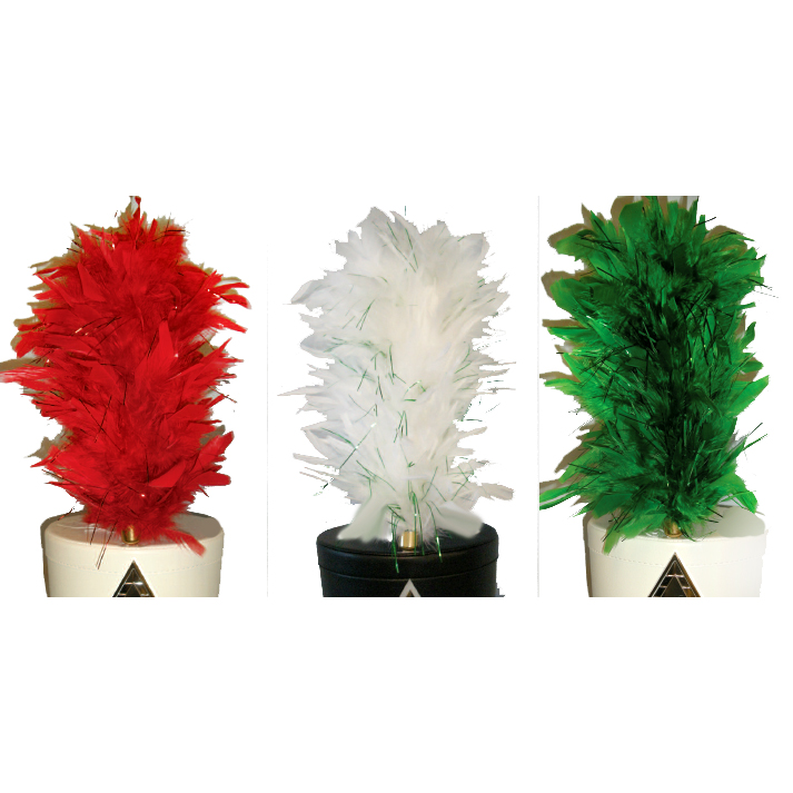 Plumes: Colored Mylar Mix