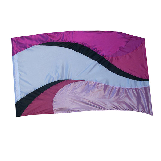 Lavachromatic Flag, Pink