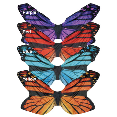 Digitally Printed Wing Flags: Style Butterfly