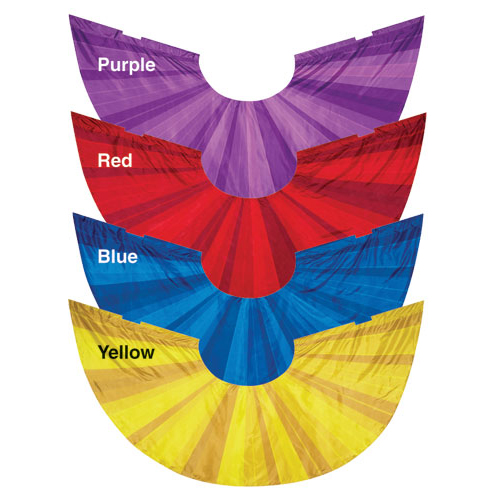 Digitally Printed Wing Flags: Style Stripes