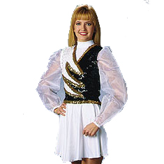 Guard Uniforms: Style 520 Sequin Vest