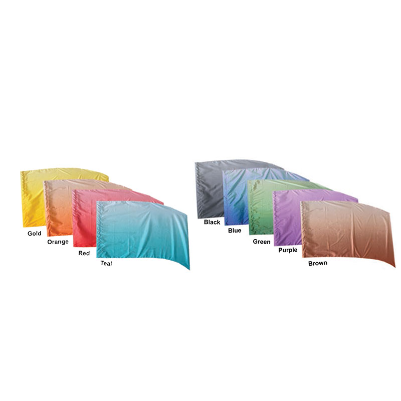 Horizontal Shaded PCS Flags