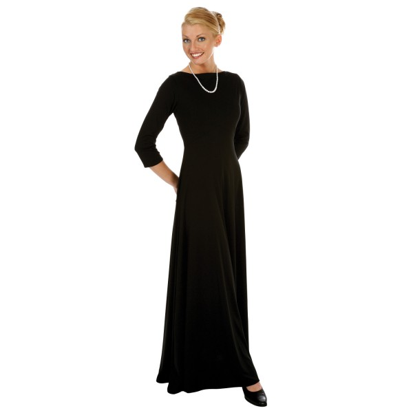 Juliet Concert Dress, 3/4 Sleeve