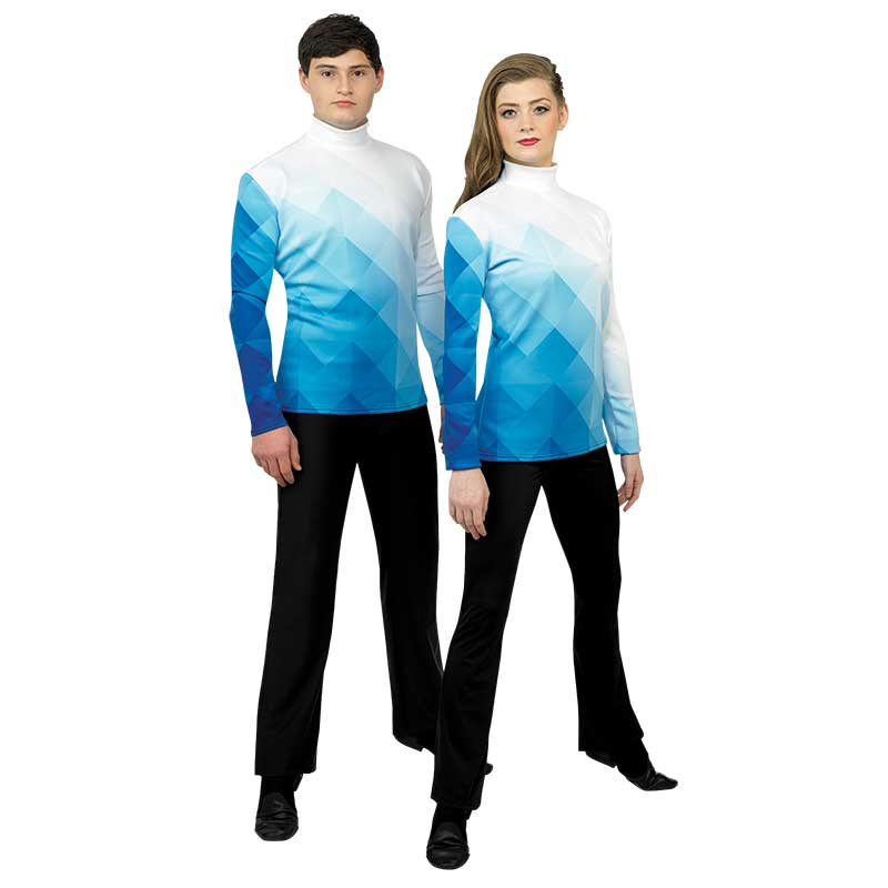 Digital Uniforms: 17600 Unisex Top, Style CP083