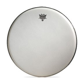 Tenor Drum Heads: Emperor Suede White