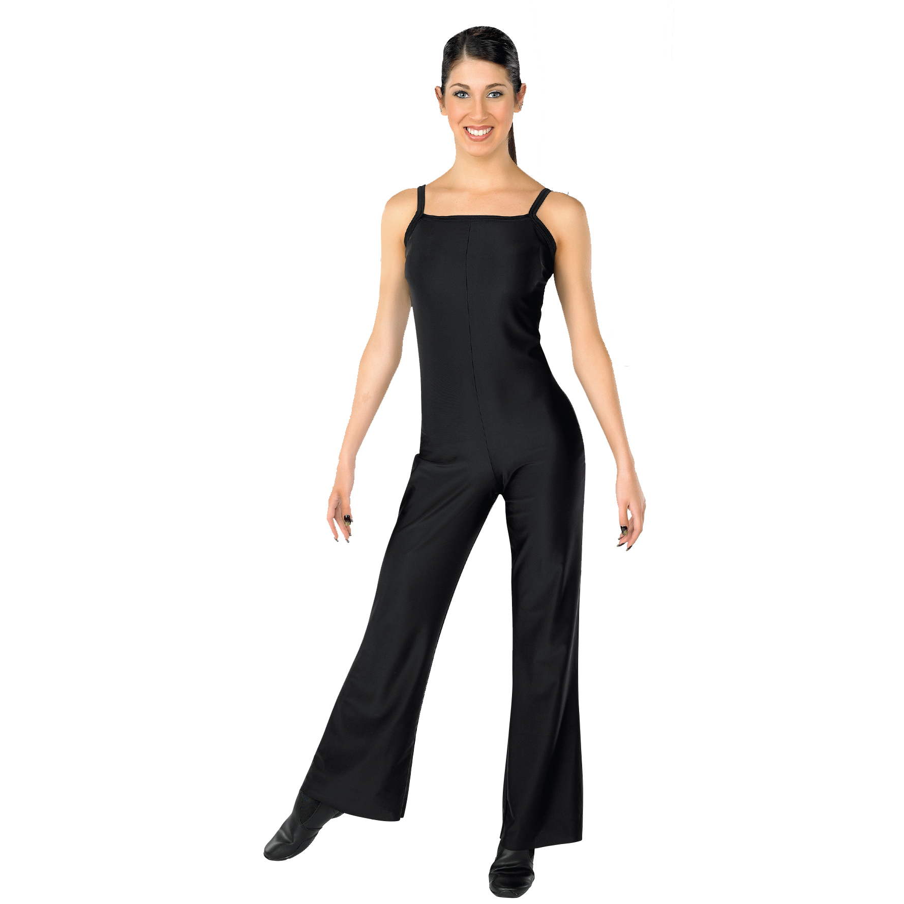 In-Stock Jazz-Leg Camisole Unitard