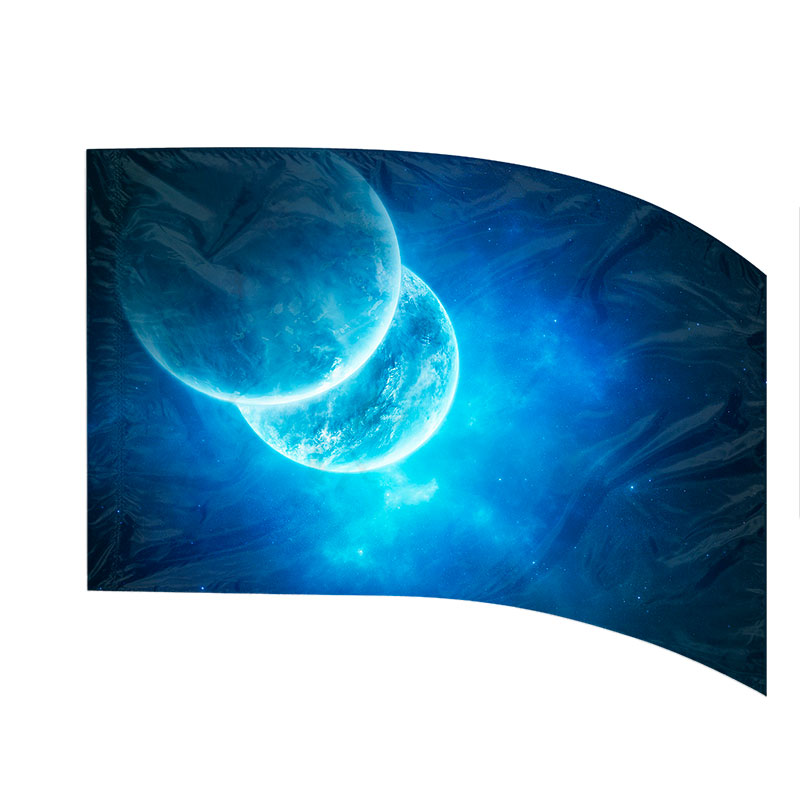 Made-to-Order Digital Cosmos Flags: Style 11