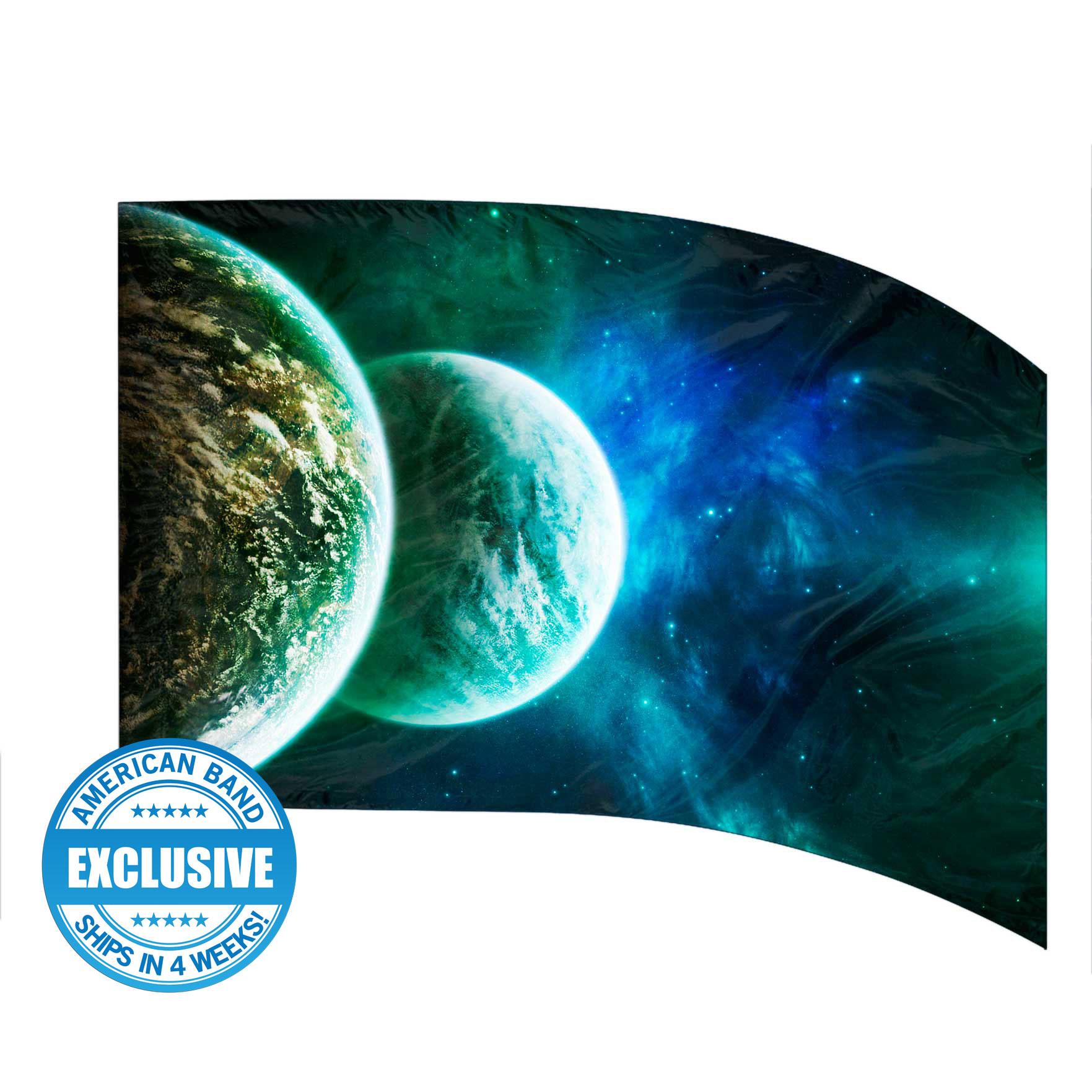 Made-to-Order Digital Cosmos Flags: Style 5