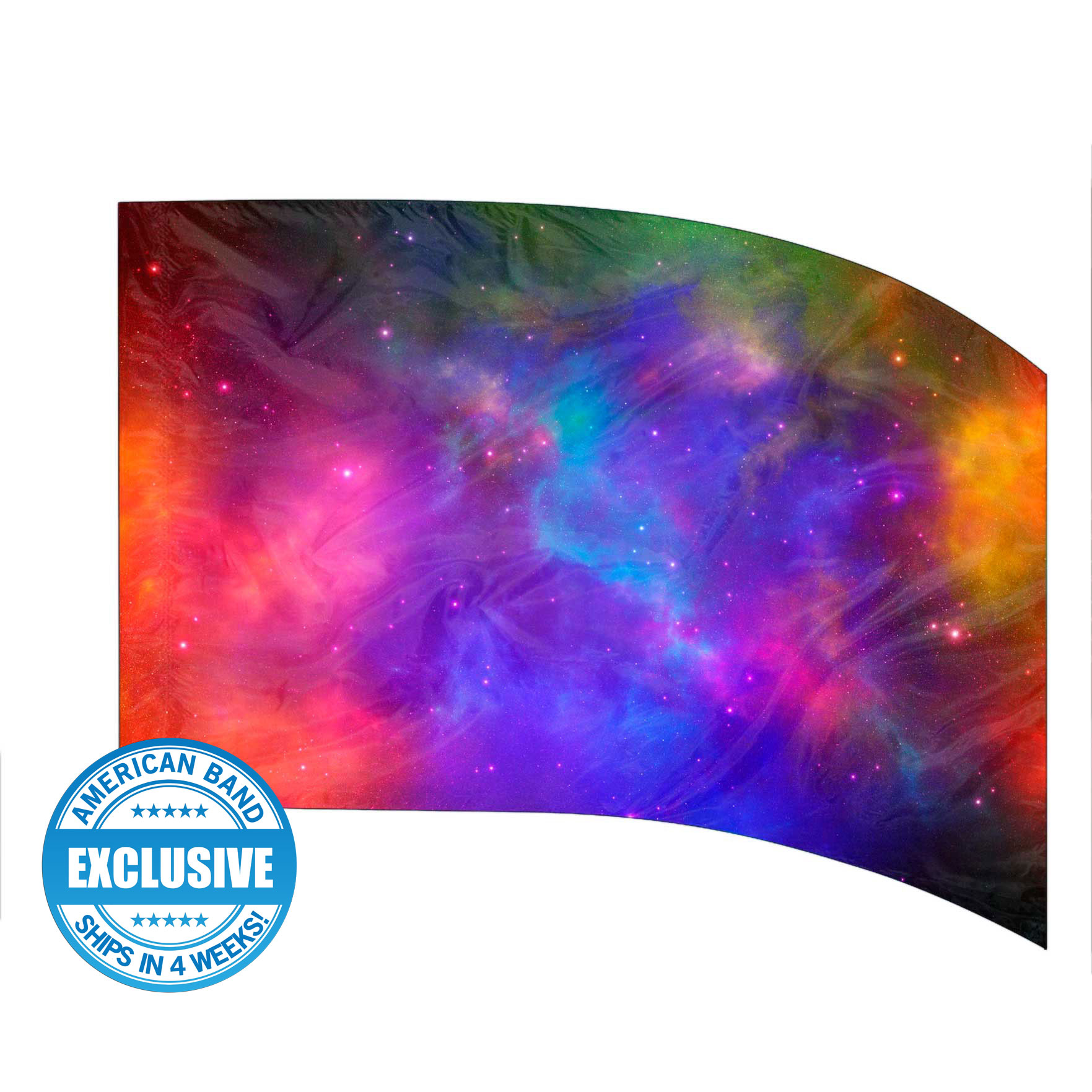Made-to-Order Digital Cosmos Flags: Style 6