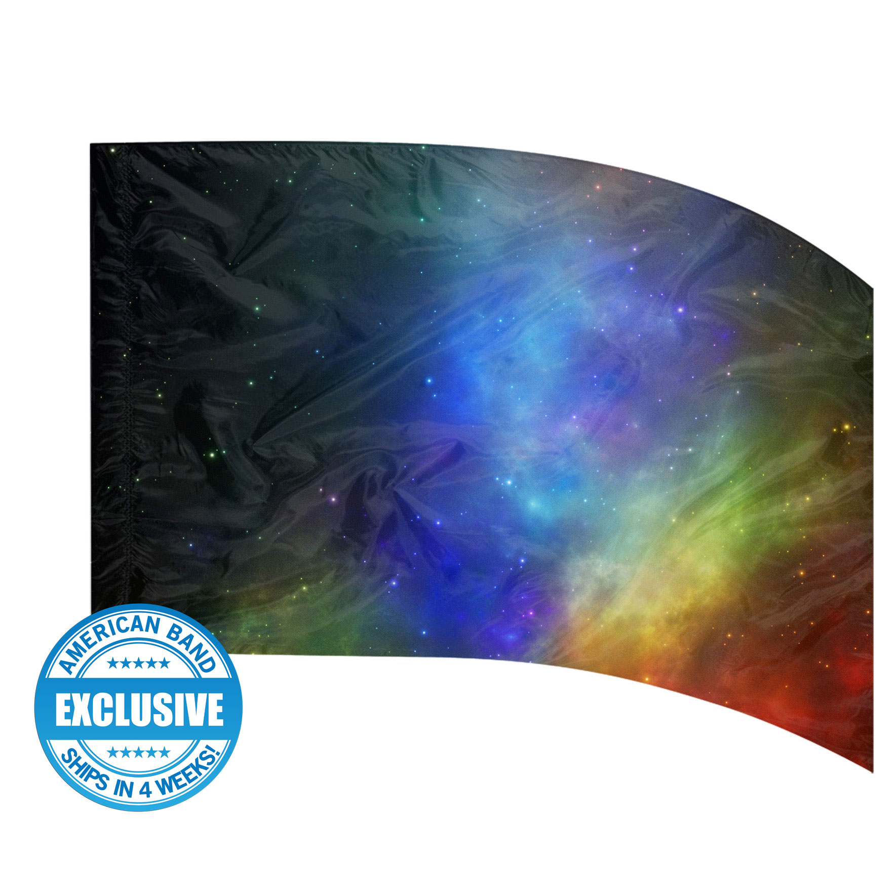 Made-to-Order Digital Cosmos Flags: Style 8