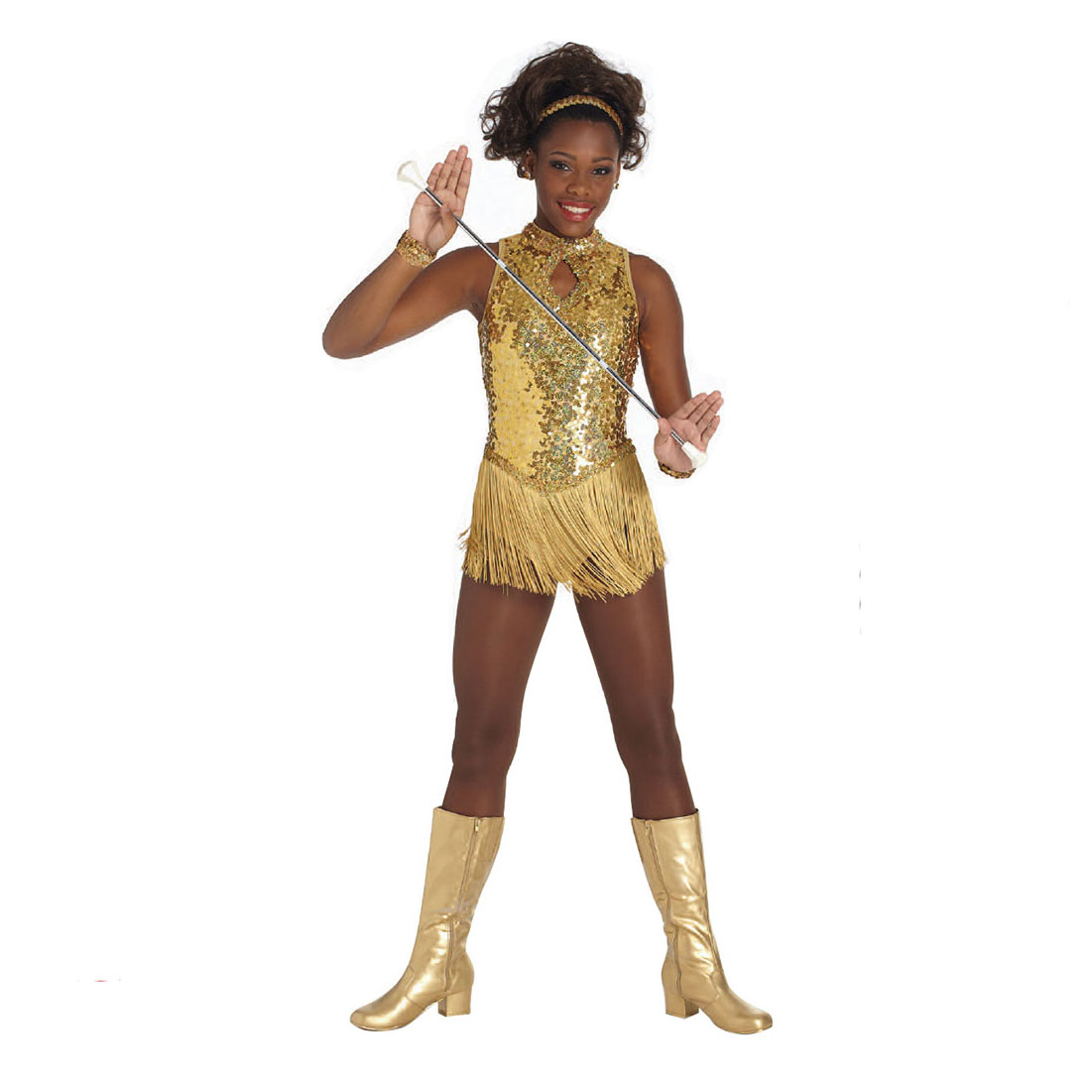 Guard Uniforms: Fascination Leotard w/ Fringe
