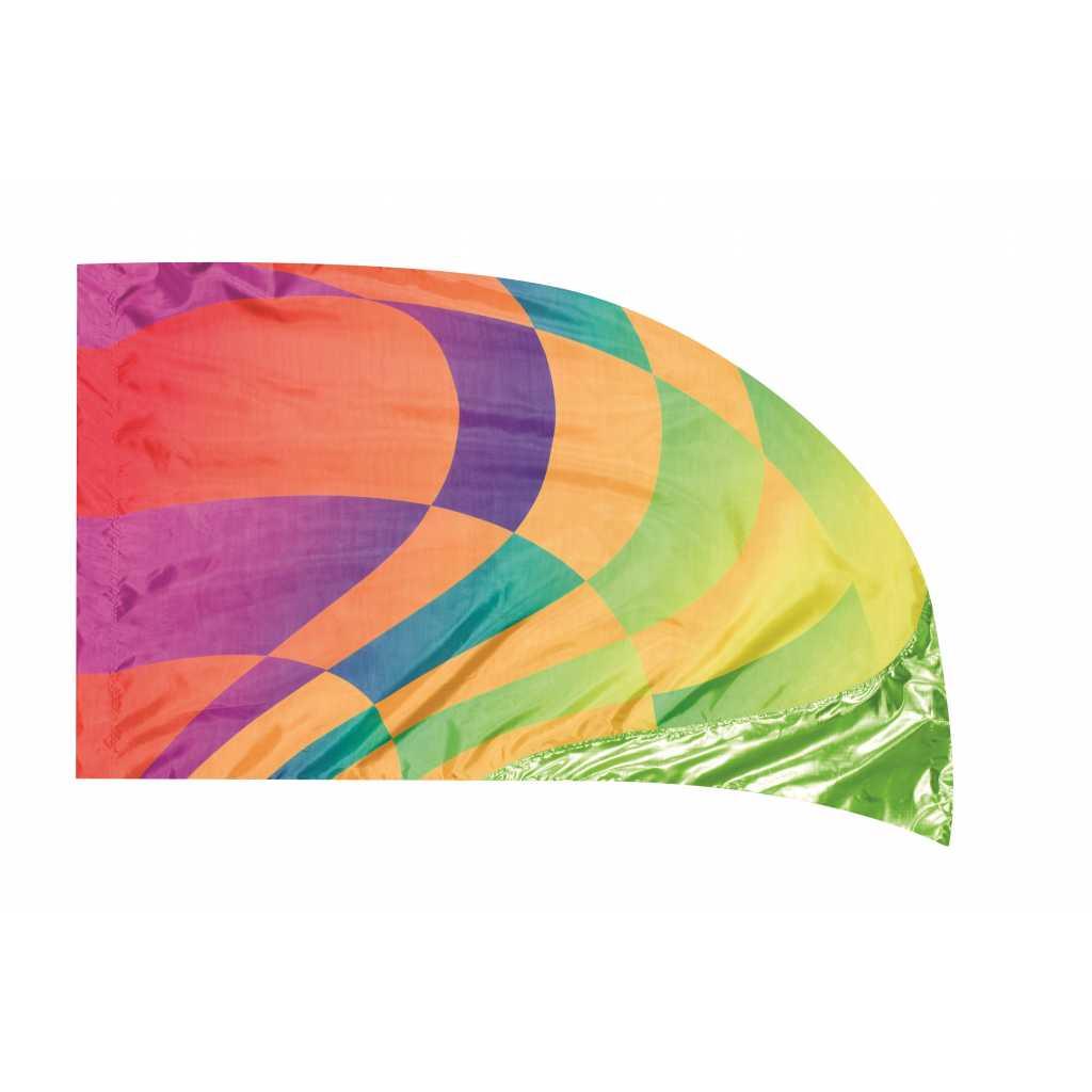 Hybrid Digital Lava Lamé Flags