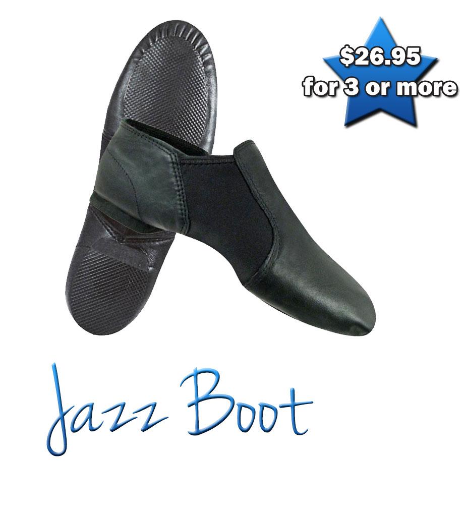 Jazz Boot (Black)