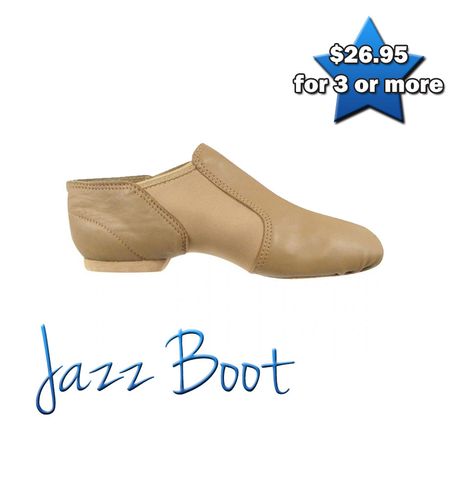 Jazz Boot (Tan)