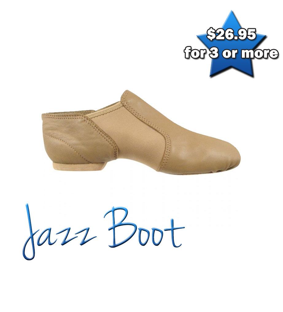 Jazz Boot (Tan)