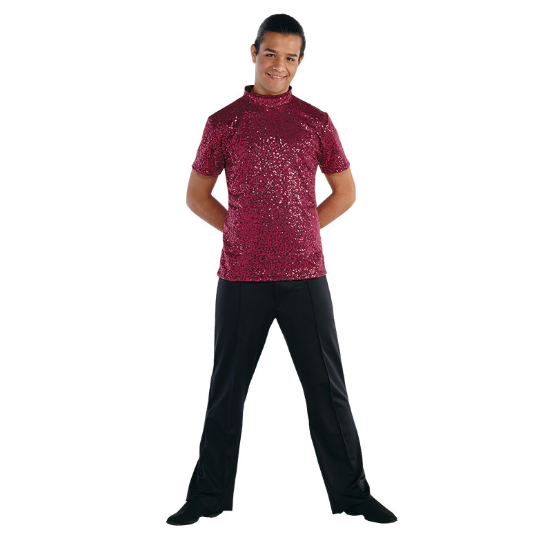 Guard Uniforms: Mens Microsequin Shirt