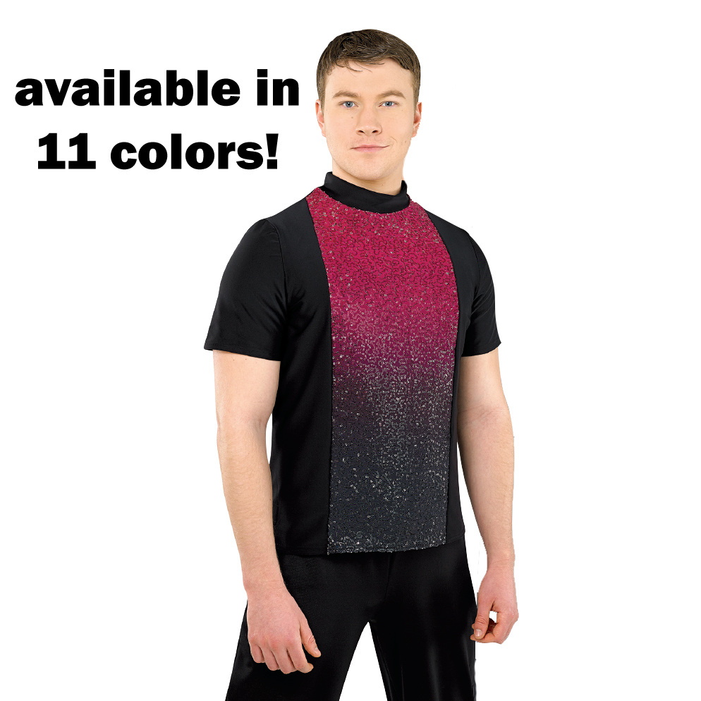 Guard Uniforms: Plex Male Top, Color to Black