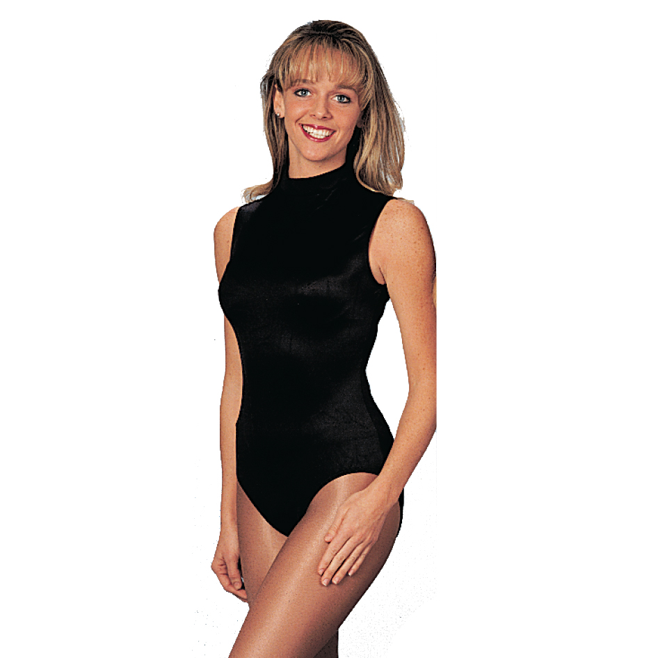 Leotards: Sleeveless (Black)