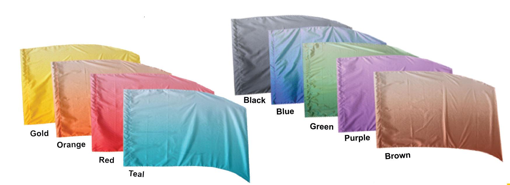 Horizontal Shaded PCS Flags