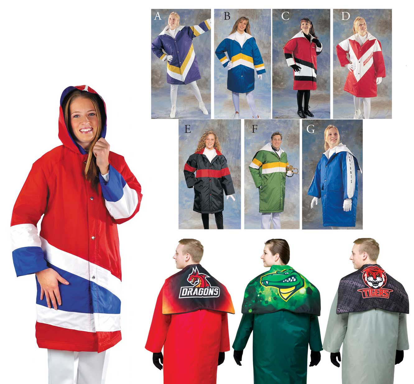 Deluxe  Performer Parkas