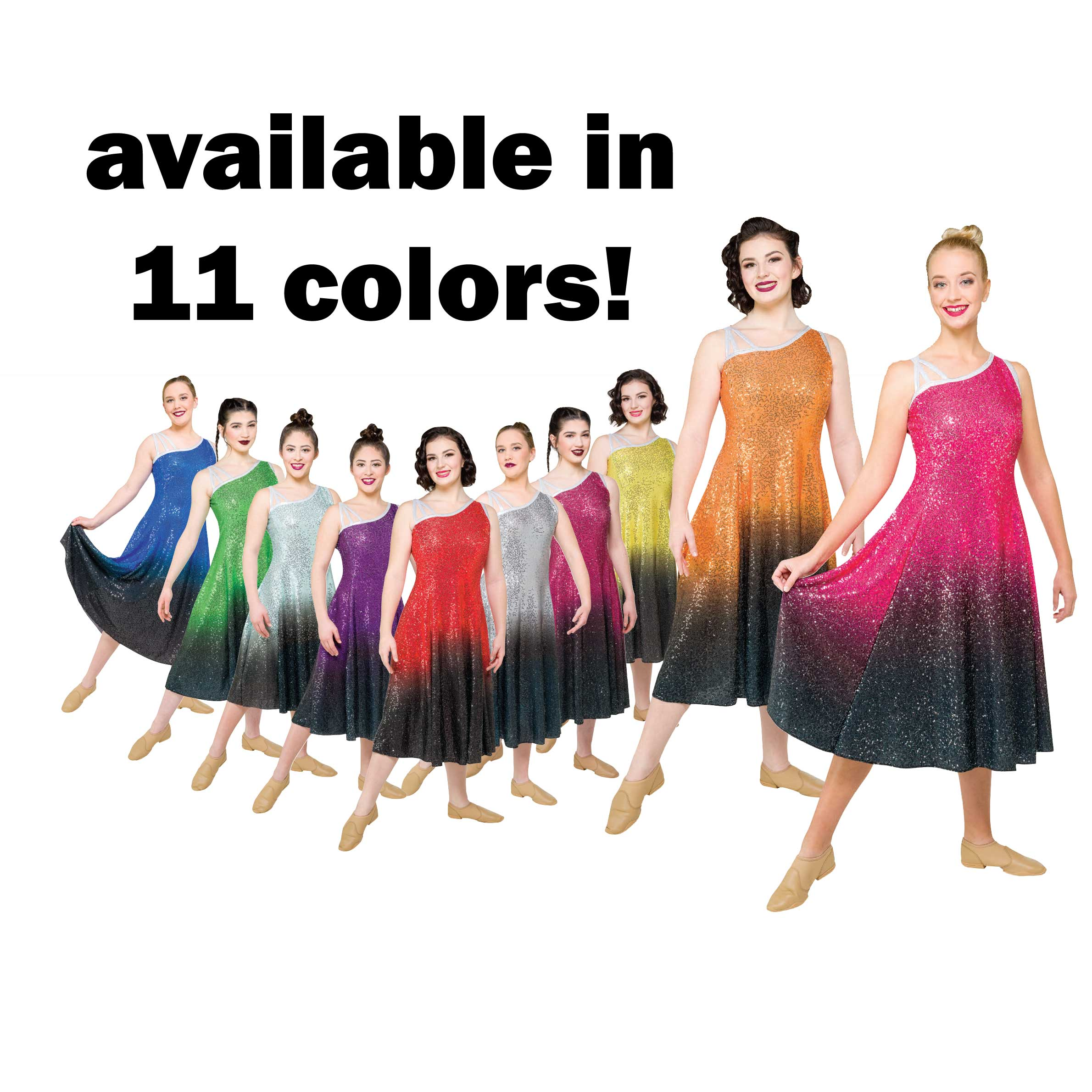 Guard Uniforms: Style 17002 Dress - Color to Black