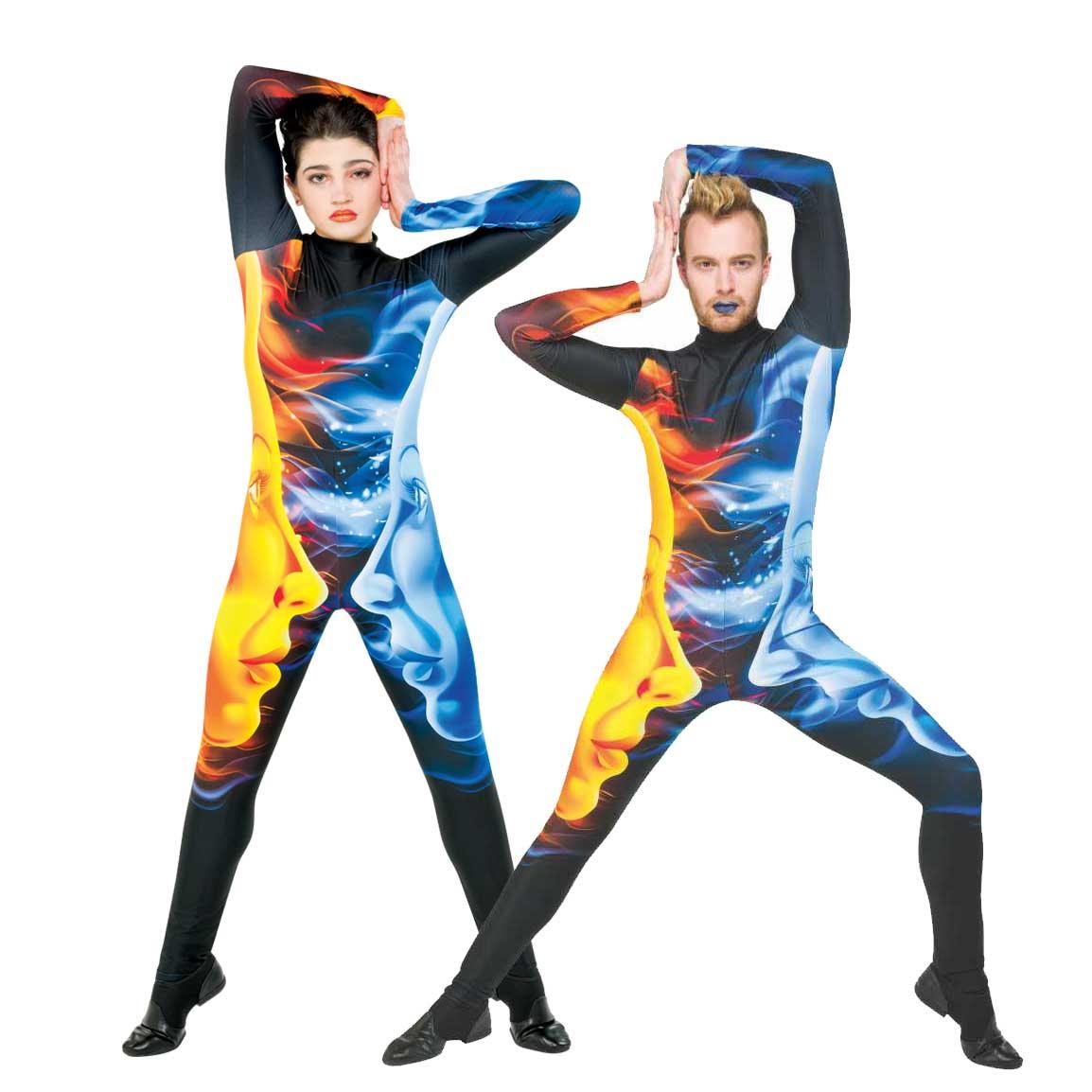 Digital Uniforms: 17100 Unisex Jumpsuit, Style CP048