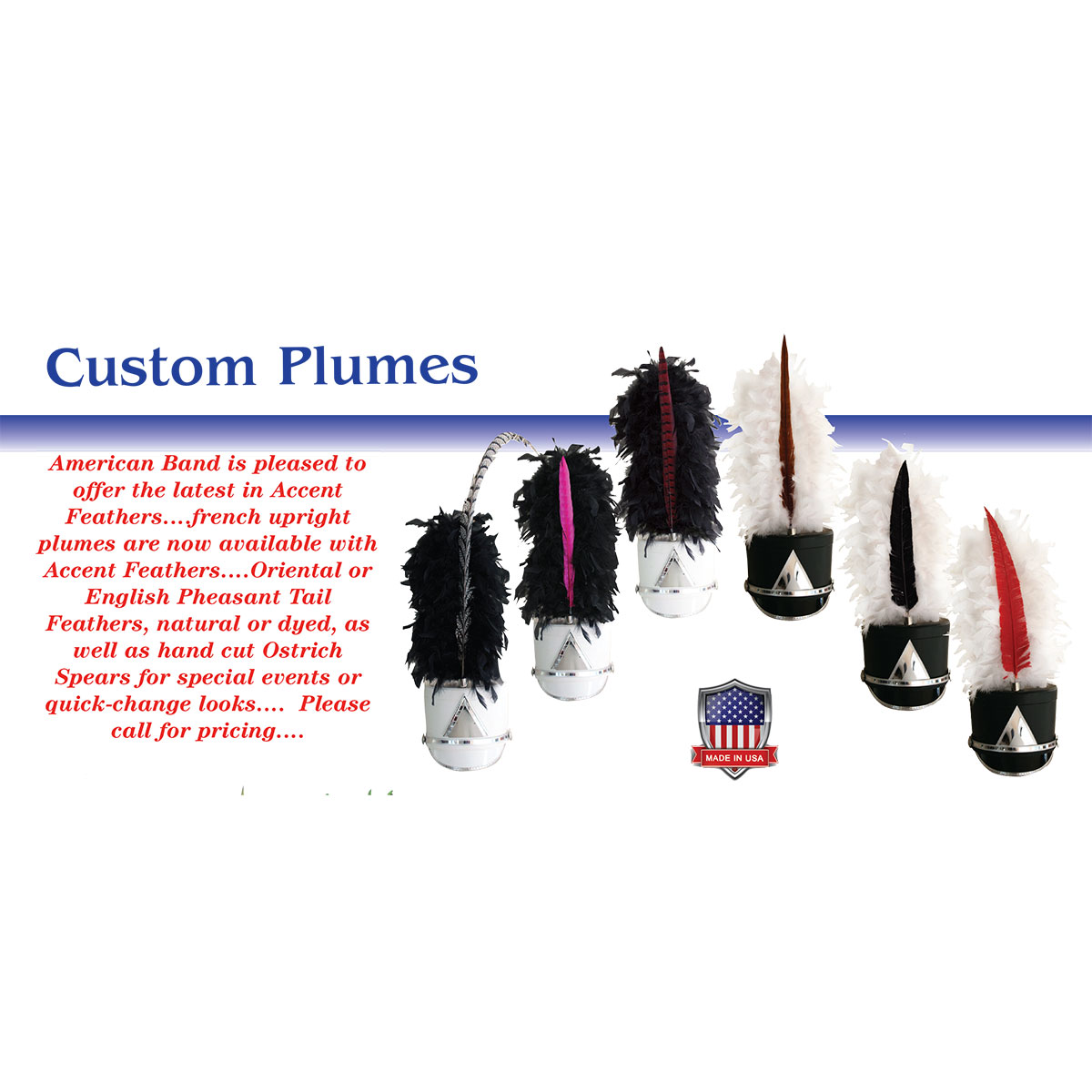 Plumes: Accent Feathers