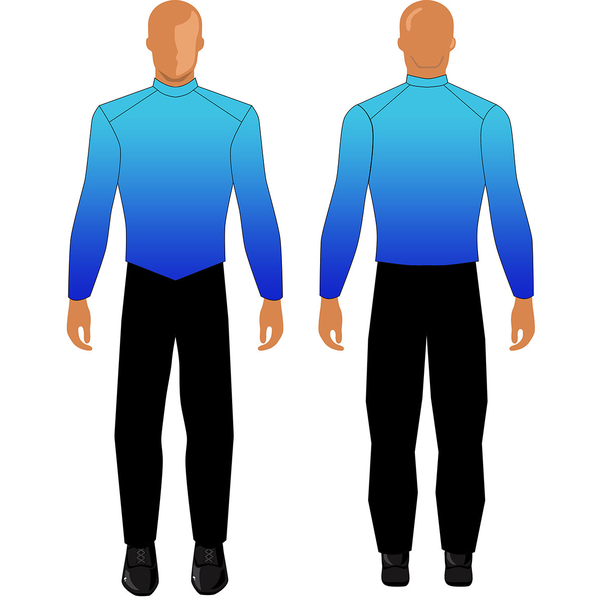 Digital Band Uniforms: Gradient (Jacket)