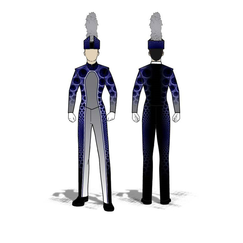Digital Band Uniforms: Fractal