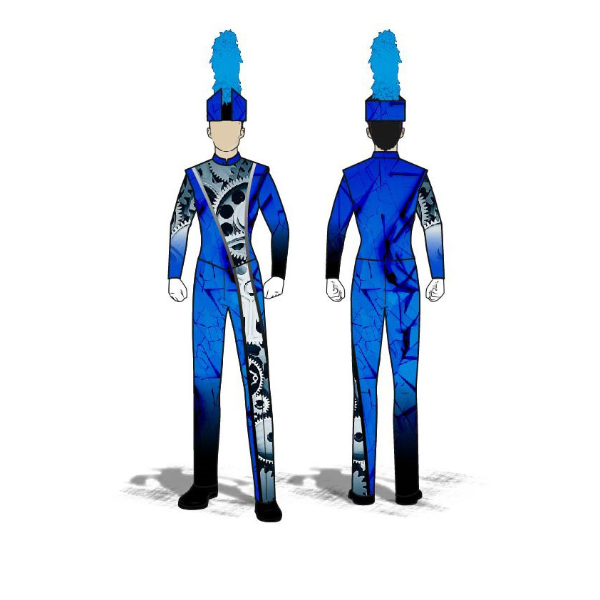 Digital Band Uniforms: Style 1807