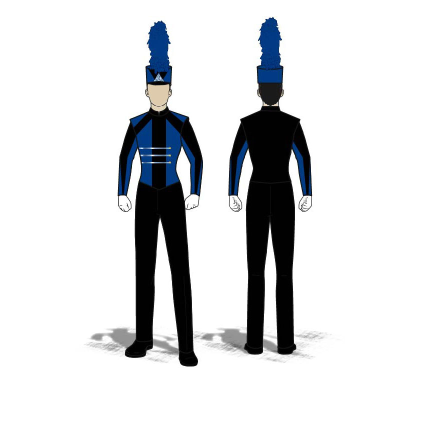 Digital Band Uniforms: Traditional 1 (Jacket)