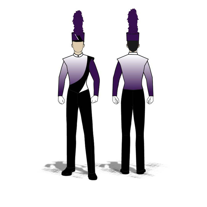 Digital Band Uniforms: Style 1806 Jacket