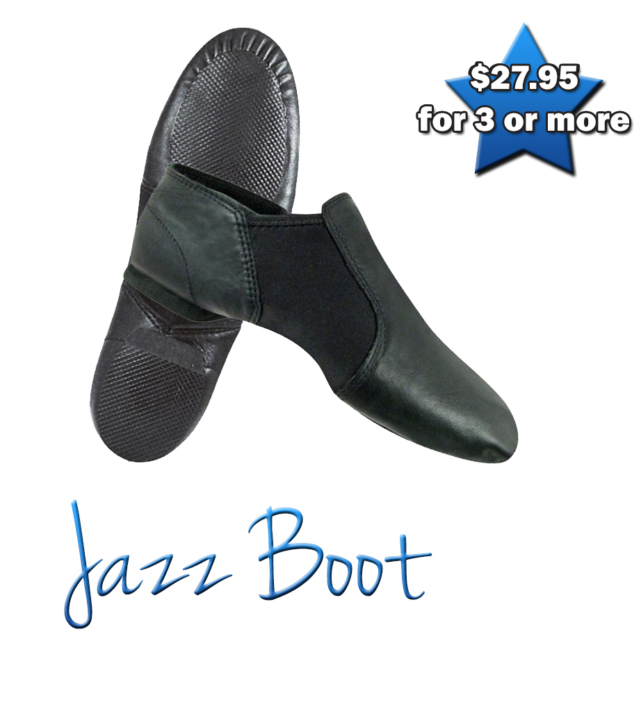 Jazz Boot (Black)