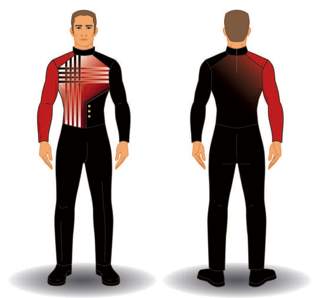Digital Band Uniforms: Style 1901 Jacket