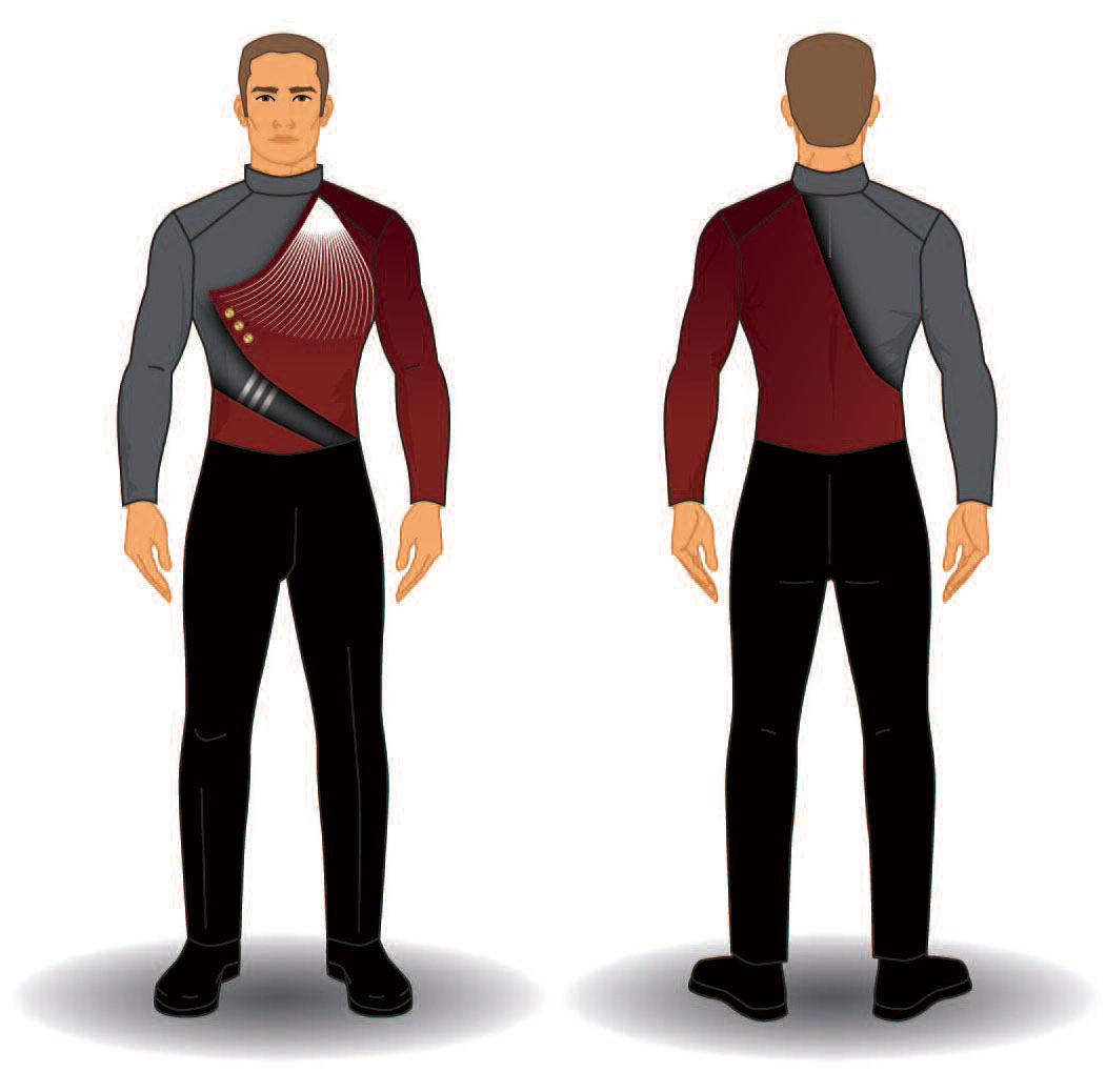 Digital Band Uniforms: Style 1905 Jacket