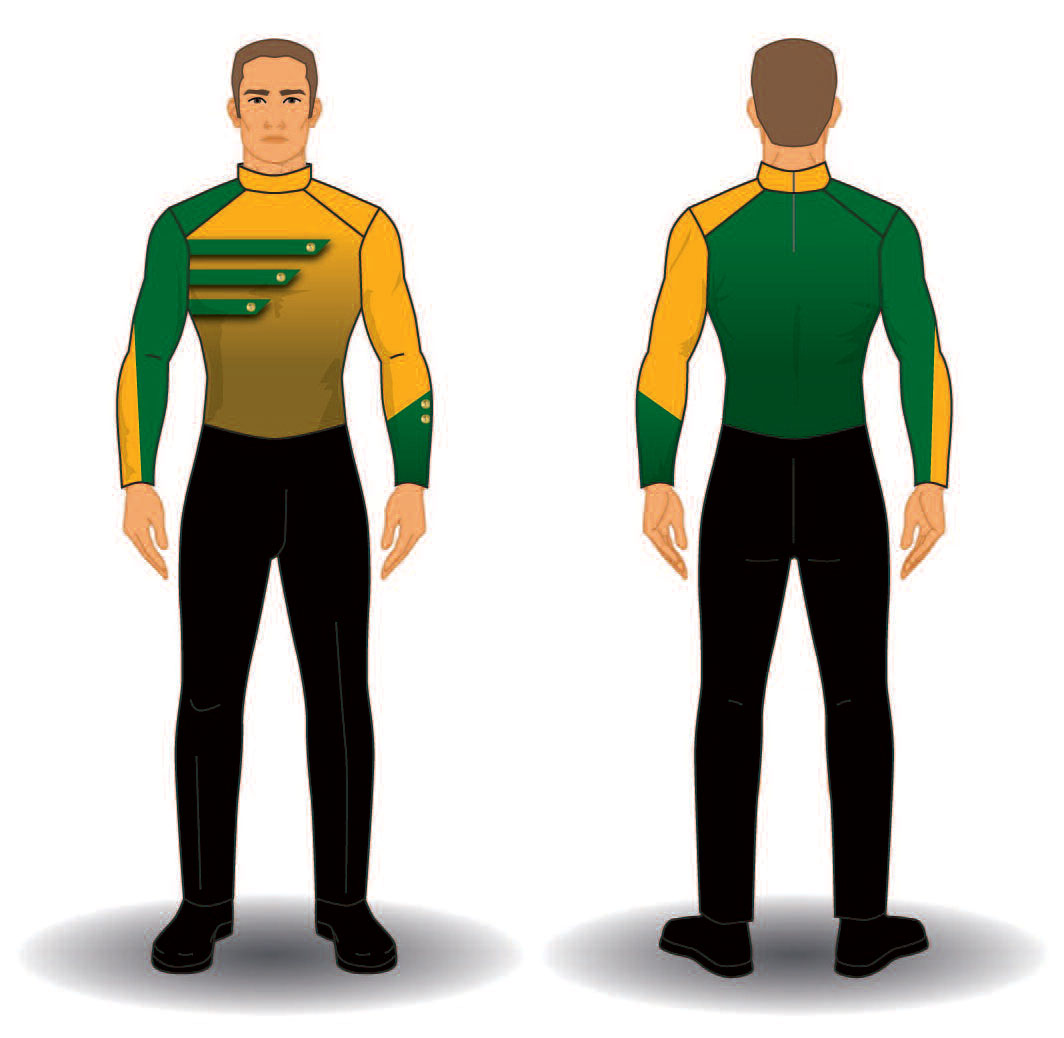 Digital Band Uniforms: Style 1906 Jacket