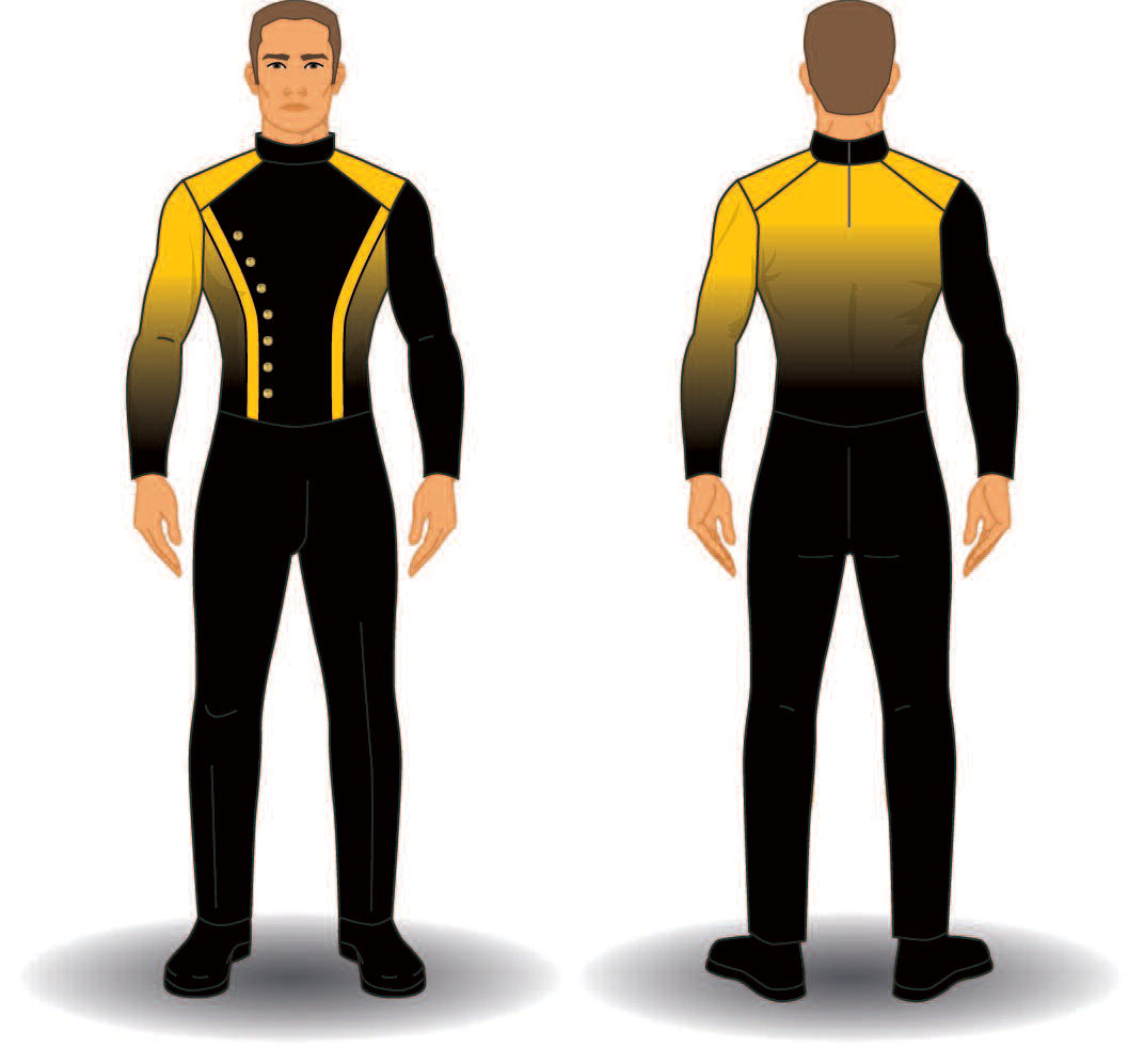Digital Band Uniforms: Style 1909 Jacket