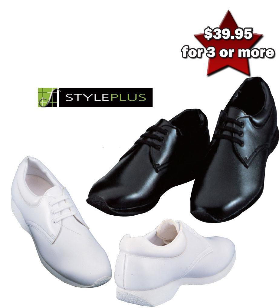 Leather Athletic Band Shoe