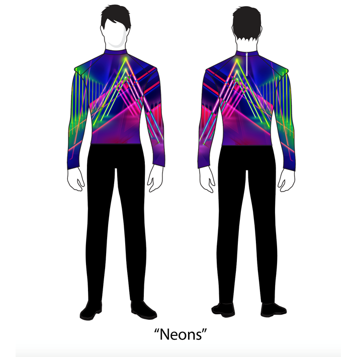Digital Band Uniforms: Style 2001